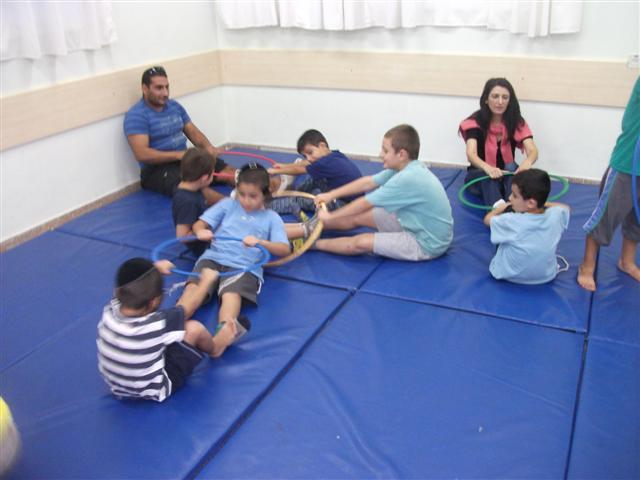 פעילות הורים וילדים בבית אברהם