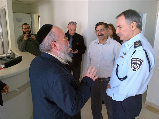 צמרת המשטרה התארחו ב'בית שלמה'